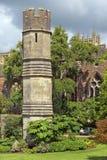 Medeltida landskap av stadsbadet, Somerset, England Royaltyfria Foton