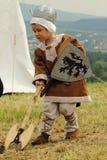 medeltida livstid Arkivfoto