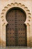medeltida moorish för dörr Royaltyfria Bilder