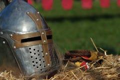 medeltida pansar Fotografering för Bildbyråer