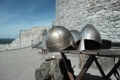 medeltida pansar Royaltyfri Bild