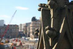 medeltida rekonstruktion Royaltyfri Fotografi