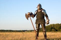 medeltida riddare Arkivbild