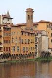 Medeltida sceniskt i Florence Arkivfoto