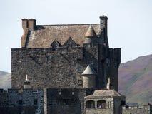 Medeltida skotsk eilean donan slott Royaltyfri Bild