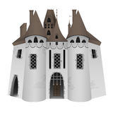medeltida slott Royaltyfria Bilder