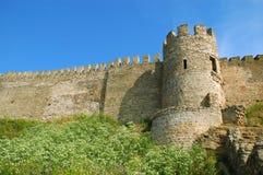 medeltida slott arkivbilder