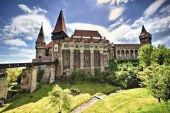 medeltida slott Fotografering för Bildbyråer