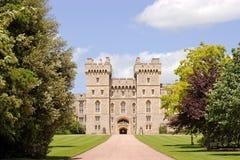 medeltida slott Royaltyfri Fotografi