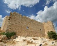 Medeltida slott av Kritinia i Rhodes Greece, Dodecanese Arkivbilder