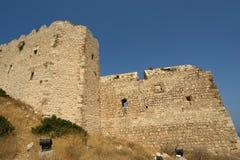 Medeltida slott av Kritinia i Rhodes Greece, Dodecanese Royaltyfri Bild
