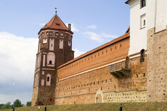 medeltida slott _ Central Europe Arkivfoto