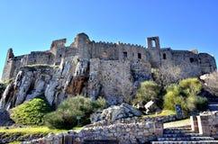 Medeltida slott V Arkivbilder