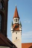 medeltida slottfacade Arkivbild