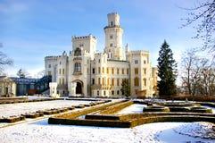medeltida slottfe Arkivbild