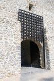 Medeltida slottport Arkivfoto