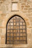 medeltida slottport Royaltyfri Foto