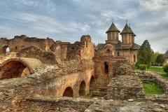 medeltida ställe Fotografering för Bildbyråer