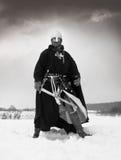 medeltida st för hospitallersjohn riddare Fotografering för Bildbyråer