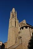 medeltida stad Arkivfoto