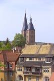 Medeltida stad av Altenburg, Thüringen Royaltyfri Fotografi