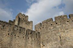 Medeltida stad av Carcassonne, Frankrike Royaltyfri Bild