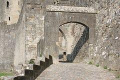 Medeltida stad av Carcassonne, Frankrike Royaltyfria Bilder