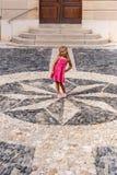 Medeltida stad för berg i Spanien Fotografering för Bildbyråer
