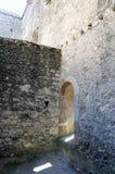 Medeltida stad för Orem slott, Portugal Fotografering för Bildbyråer