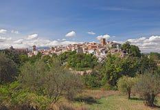 Medeltida stad Lanciano, Abruzzo, Italien Arkivbilder
