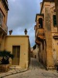 Medeltida stad Medina i Malta Arkivfoto