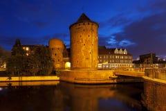 Medeltida stadstorn och väggar av Gdansk Royaltyfri Bild