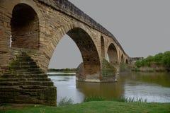 medeltida sten för bro Royaltyfri Foto