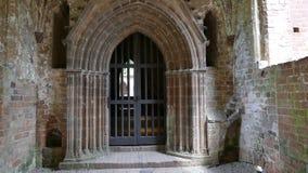 Medeltida stenkloster Arkivfoton