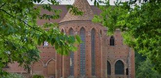 Medeltida stenkloster Fotografering för Bildbyråer