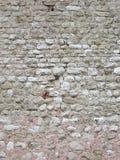 medeltida stenvägg Arkivfoto