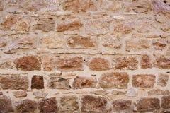 medeltida stenvägg Arkivbild