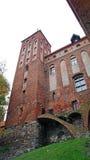Medeltida Teutonic slott i Kwidzyn Fotografering för Bildbyråer