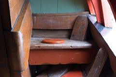 Medeltida toalett för skepp` s Fotografering för Bildbyråer