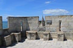 medeltida torn av La Rochelle i Frankrike Royaltyfri Foto