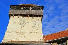 medeltida torn för fästning Royaltyfri Foto