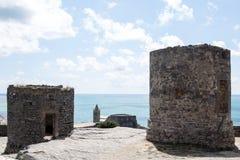 Medeltida torn Rovine Royaltyfria Bilder