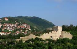 Medeltida town av Veliko Tarnovo Royaltyfri Foto
