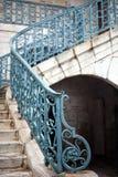 medeltida trappuppgång Arkivfoton