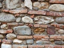medeltida vägg Fotografering för Bildbyråer