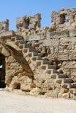 medeltida vägg för stad Arkivfoton