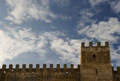 medeltida väggar Fotografering för Bildbyråer