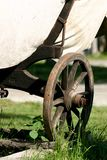 medeltida vagn royaltyfri foto