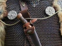 Medeltida vapen och pansar Royaltyfri Bild