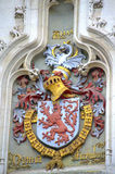 Medeltida vapensköld Bruges Arkivbild